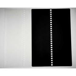 ILFORD FP40 Film Leader card